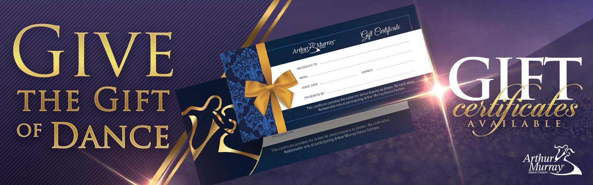 Arthur Murray Natick Gift Certificates